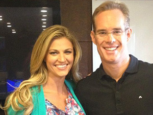 Erin Andrews & Joe Buck
