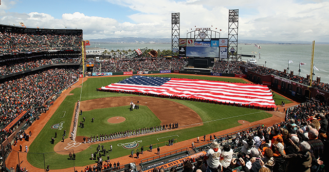 Opening Day at Giants Stadium